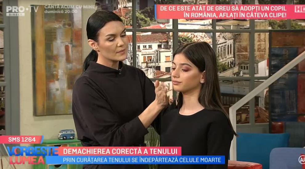 VIDEO Demachierea corectă a tenului explicată de Dana Argeșan