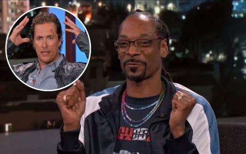 Snoop Dogg, pus pe farse riscante la filmări. Ce i-a putut face lui Matthew McConaughey