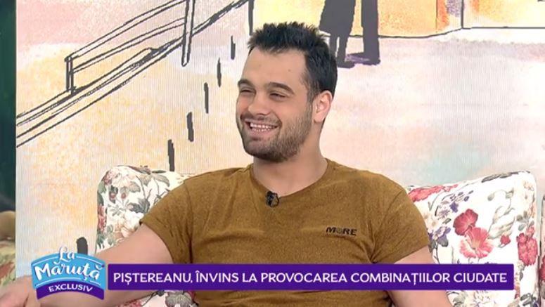 VIDEO George Piștereanu, o nouă provocare La Măruță