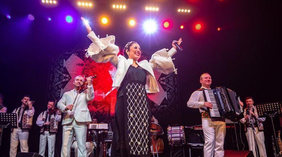 VIDEO Imagini cu Andra din culisele concertului de la Londra