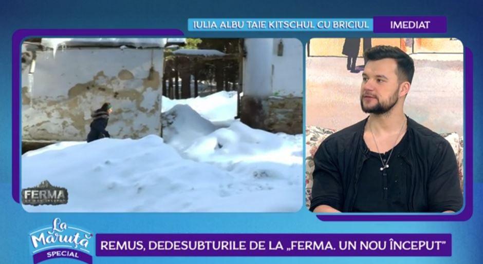 VIDEO Remus Boroiu, primele declarații după ce a părăsit Ferma-Un nou început