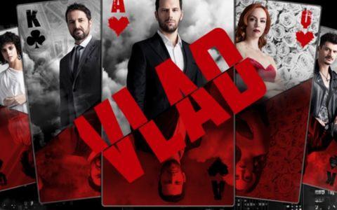 VIDEO Întâlnire de gradul 0 între actorii serialului VLAD. Adi Nartea îi învață cum să joace sportul lui preferat