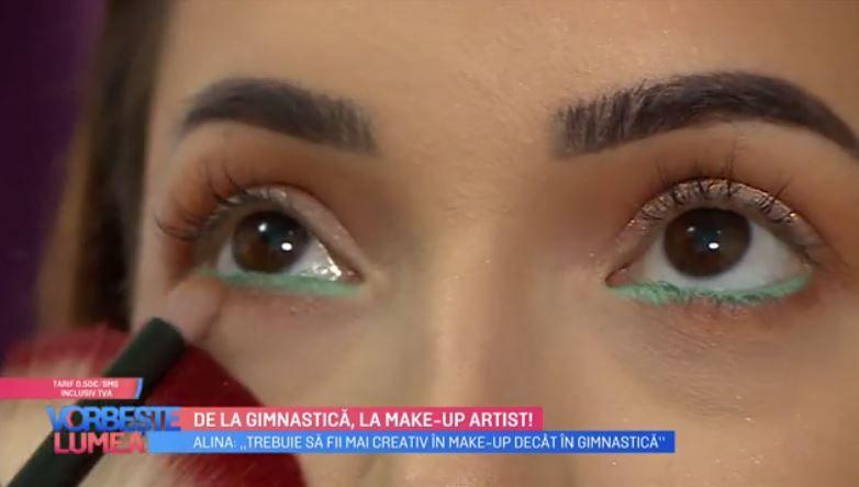 VIDEO Larisa Iordache, de la gimnastică, la make up artist