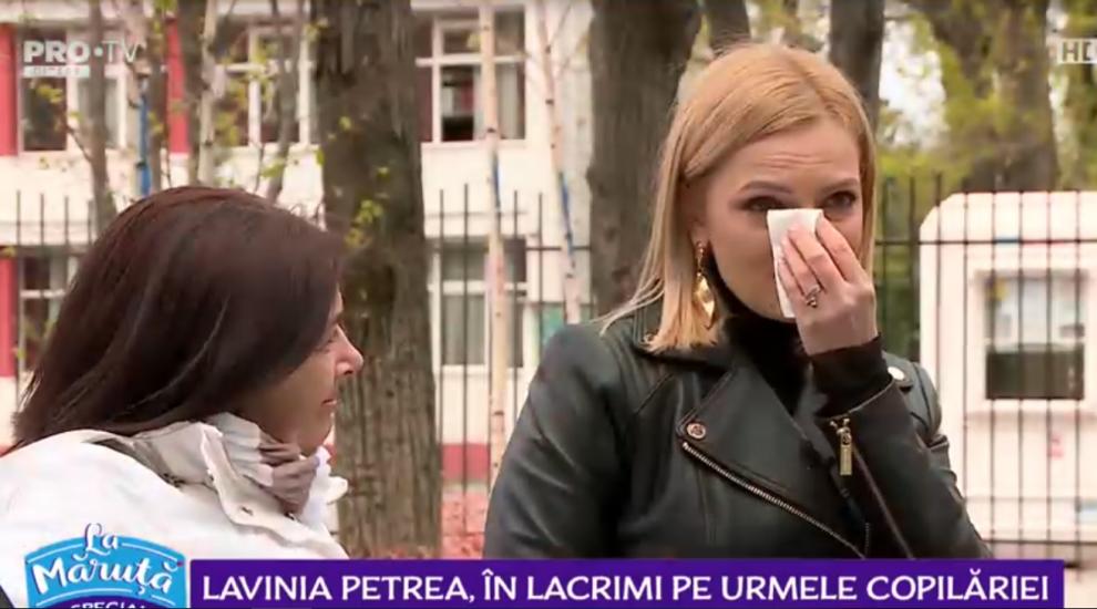 Lavinia Petrea, în lacrimi pe urmele copilăriei