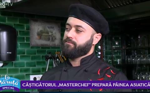 VIDEO Câștigătorul  Masterchef , prepară pâinea asiatică