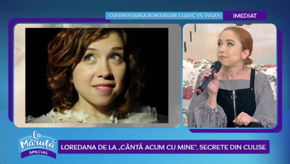"""VIDEO Loredana de la """"Cântă acum cu mine"""", secrete din culise"""
