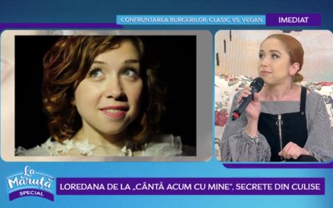 VIDEO Loredana de la  Cântă acum cu mine , secrete din culise