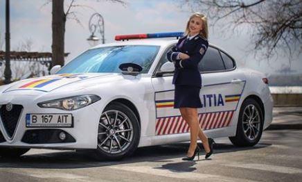 Frumoasele Poliţiei Române. Cum arată doamnele şi domnişoarele care  infrumuseţează  imaginea Poliţiei