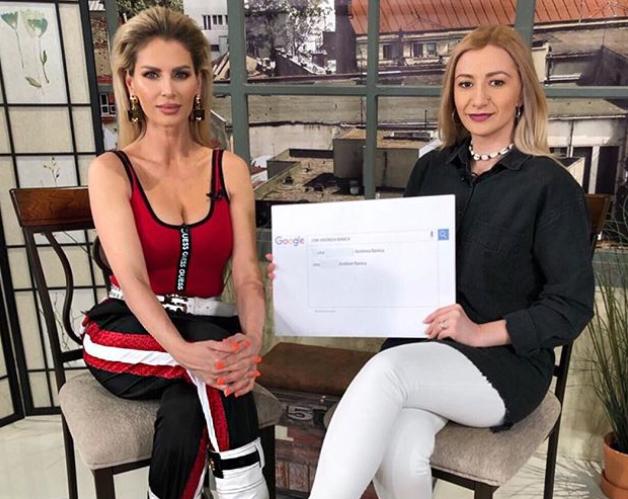 VIDEO Provocarea Google: Andreea Bănică a răspuns la curiozitățile internauților