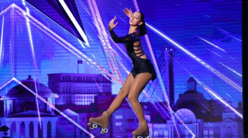 """Daria Matei, patinatoarea campioană de la Românii au talent, a încântat juriul: """"Ne-ai oferit un moment frumos"""""""