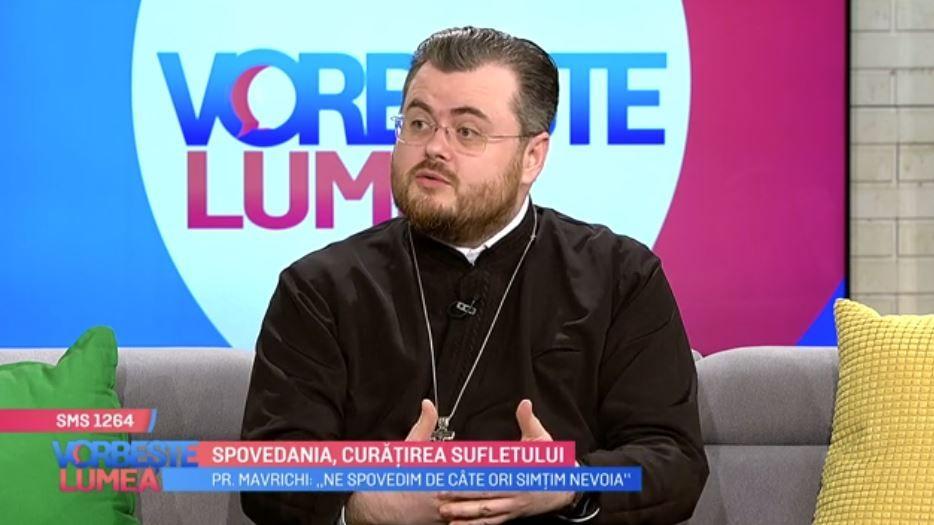 VIDEO Importanța Sfintei Taine a Spovedaniei. Părintele Ionuț Mavrichi ne spune totul acest subiect
