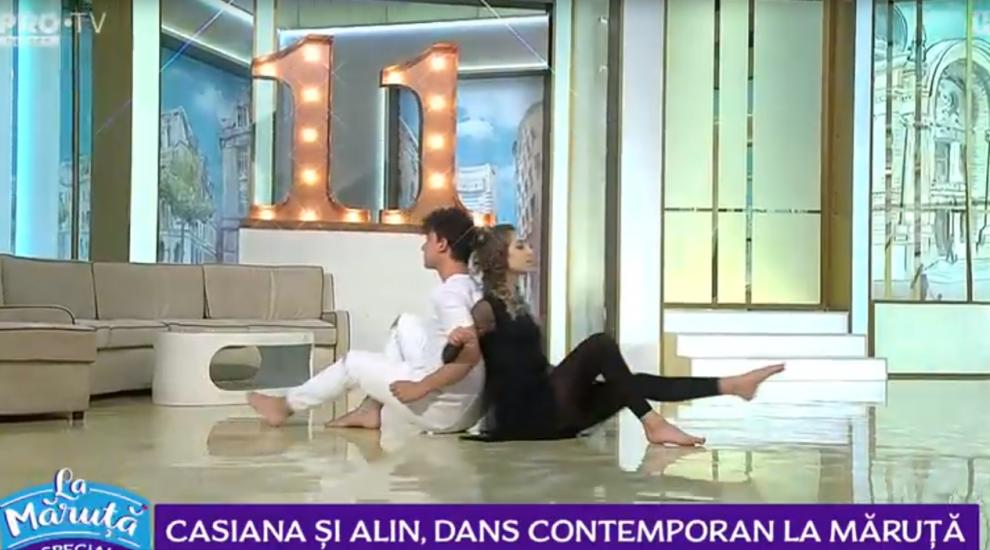 """Casiana și Alin, dansatorii de la """"Românii au talent"""" au învățat să danseze în casă"""