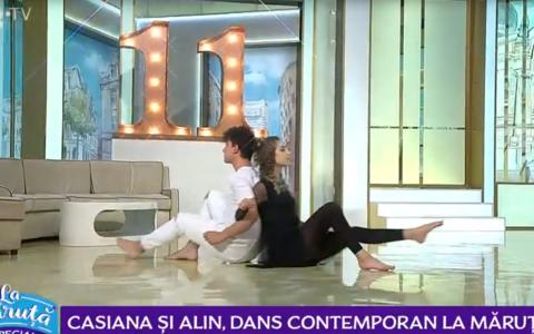 Casiana și Alin, dansatorii de la  Românii au talent  au învățat să danseze în casă