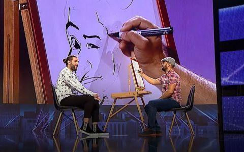 Dani Dumitru, desenatorul de la Românii au talent: Nu mi-am închipuit că Smiley poate să arate ca Donald Rățoiul cu barbă