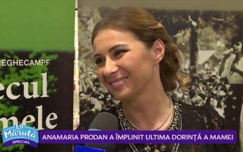 VIDEO Anamaria Prodan a lansat cartea  Cântecul vieții mele