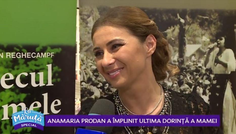 """VIDEO Anamaria Prodan a lansat cartea """"Cântecul vieții mele"""""""
