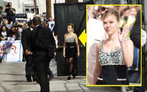 Scarlett Johansson a ajuns la poliție din cauza paparazzilor și cameramanilor