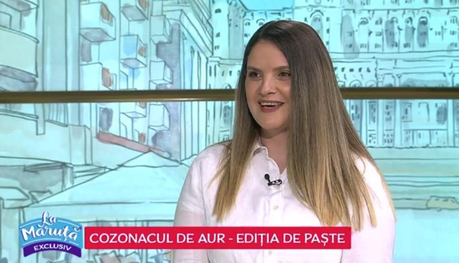 """VIDEO """"COZONACUL DE AUR"""" - EDIȚIA DE PAȘTE: Adriana Iancu"""