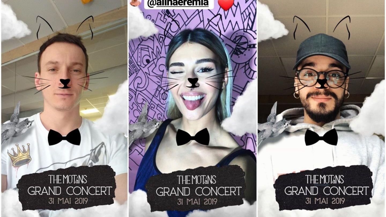 Cel mai simpatic filtru de Instagram a cucerit artiștii din România. Denis Roabeș, artistul trupei The Motans, știe de ce! :)