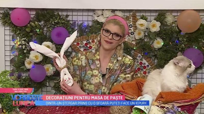VIDEO Decorațiuni pentru masa de Paște