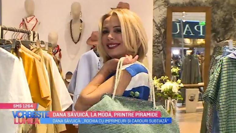VIDEO Dana Săvuică ne trimite la o sesiune de shopping