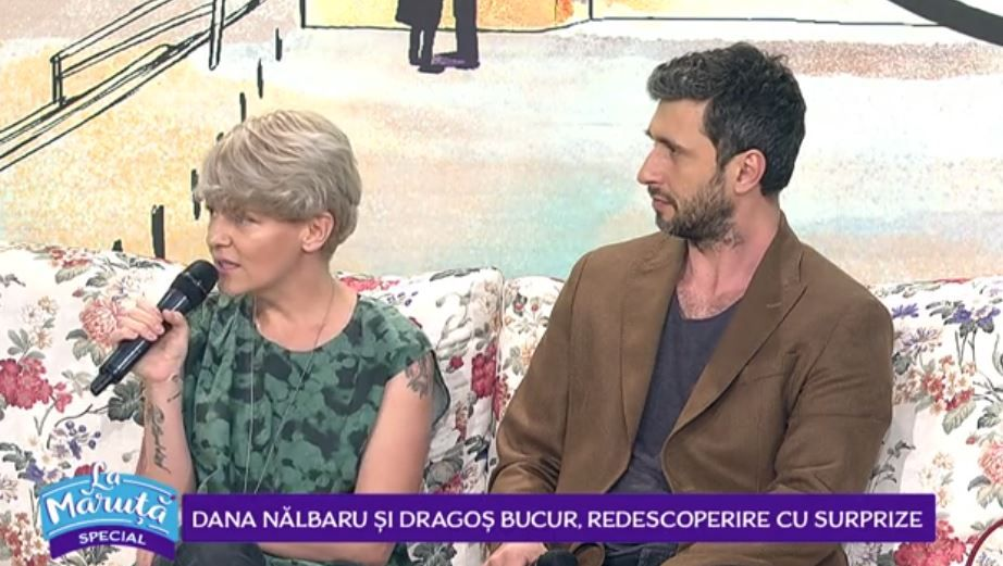 Dragos Bucur și Dana Nălbaru, implicați într-un proiect de suflet