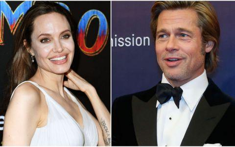 Angelina Jolie  vrea să se împace cu Brad Pitt . Cum a reacționat actorul