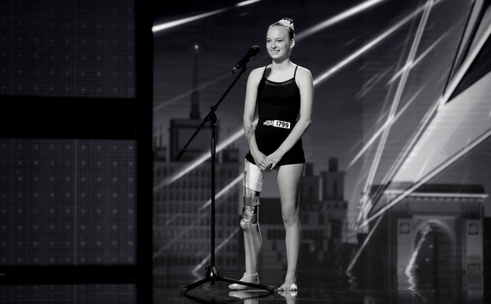 A murit Emma Neagu, gimnasta care a emoţionat până la lacrimi la  Românii au talent