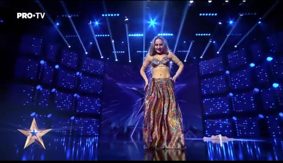 ELENA GODUNOVA - Românii au talent, sezonul #9suprem, ediția numărul 10