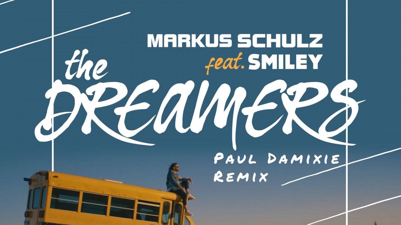 Colaborare inedită: Markus Schulz și Smiley alături de Paul Damixie lansează remixul piesei  The Dreamers