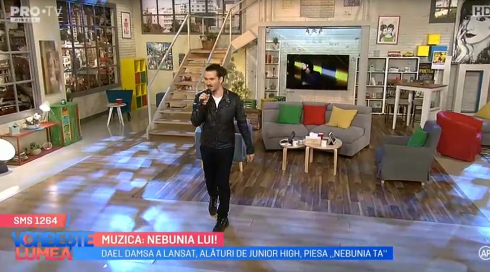 """VIDEOA compus piese pentru Andra, Celia, Voltaj, iar acum lansează piesa """"Nebunia ta"""""""