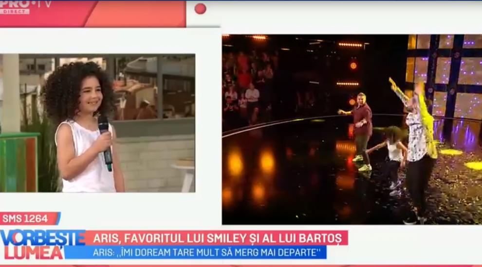 """""""Mowgli"""" de România, primele declarații după ce a primit Golden Buzz-ul din partea lui Smiley și Pavel Bartoș"""