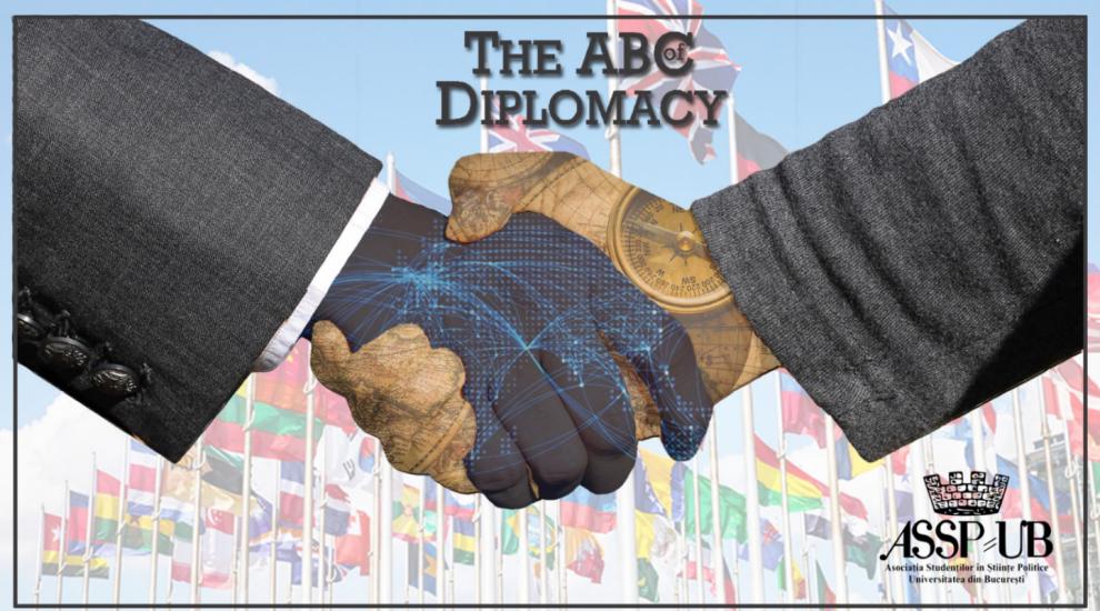 Voluntarii de la Asociația Studenților în Științe Politice organizează o conferință diplomatică