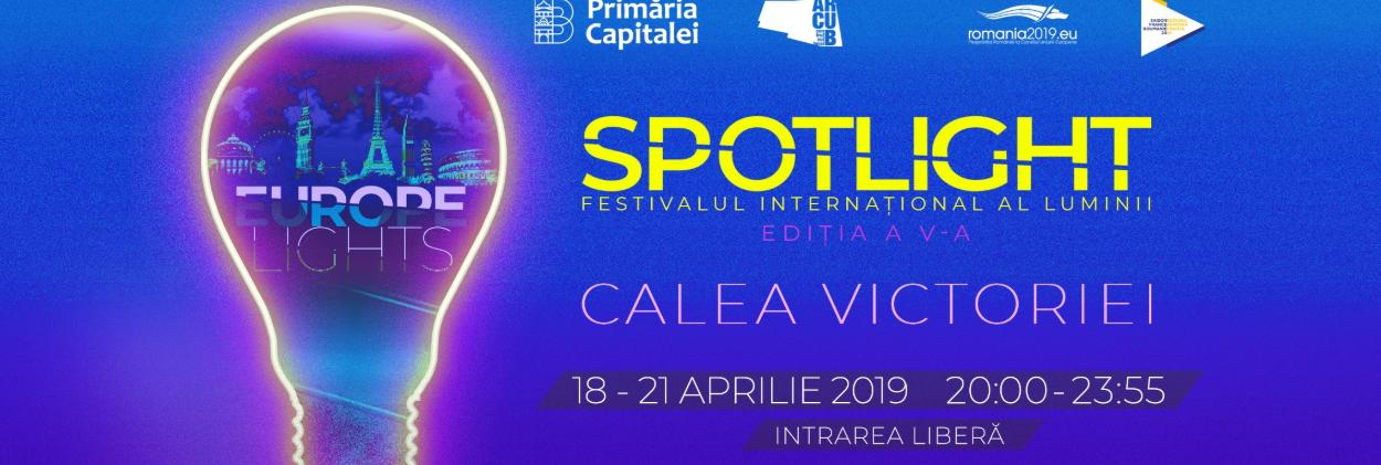 Spotlight, Festivalul Internațional al Luminii revine pentru a V-a oară în România