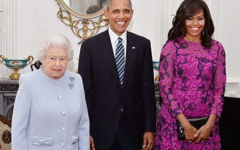 Michelle Obama explică de ce a încălcat protocolul la întâlnirea cu Regina