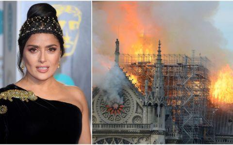 Soțul Salmei Hayek donează 100 milioane de euro pentru reconstrucția Catedralei de la Notre Dame