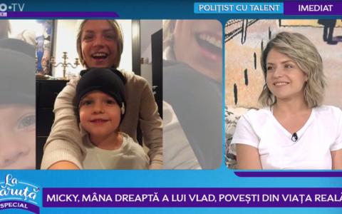 Micky, mâna dreaptă a lui Vlad, povestiri din culisele superproducției  VLAD