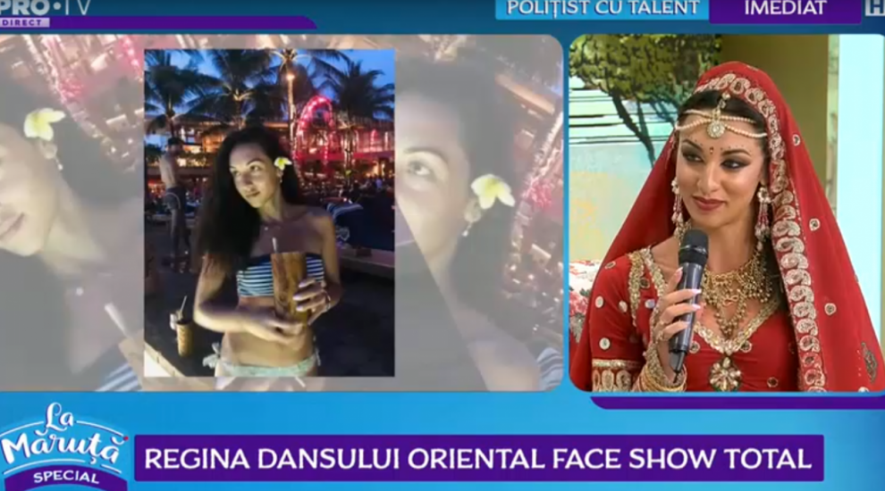 VIDEO Regina dansului oriental face show total
