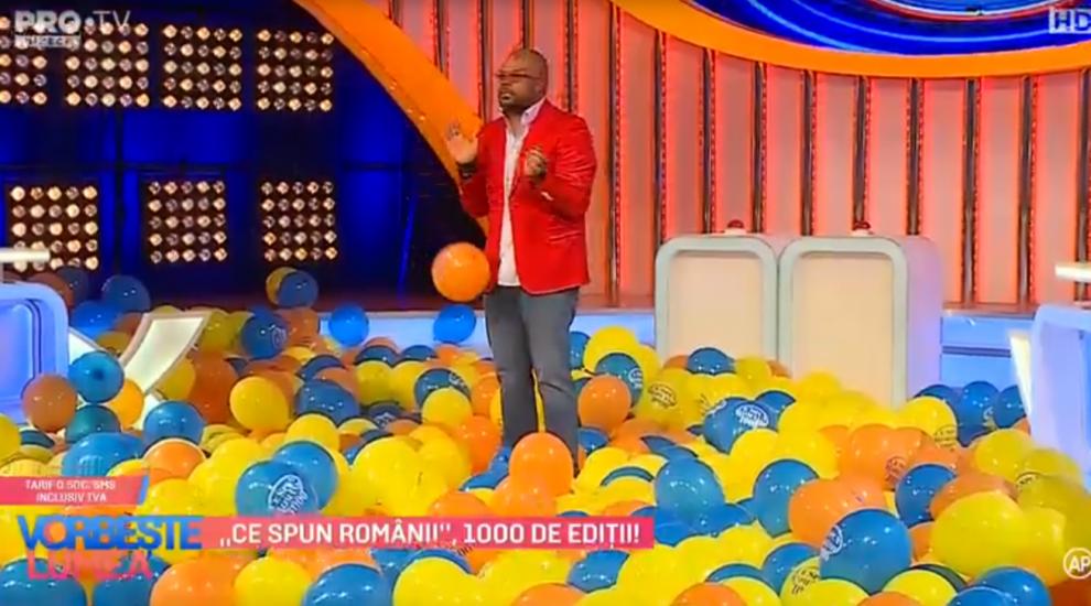 """VIDEO """"Ce spun romanii"""", 1000 de ediții"""