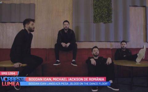 VIDEO Bogdan Ioan lansează piesa  Blood on the dance floor