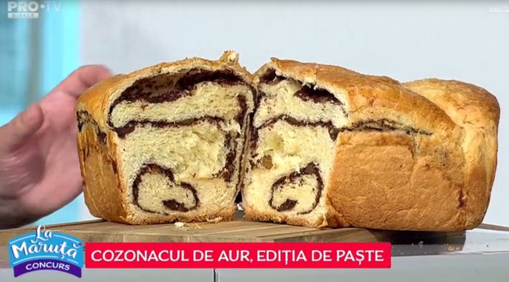 VIDEO COZONACUL DE AUR: Ediția de Paște - Mihaela Tudorache