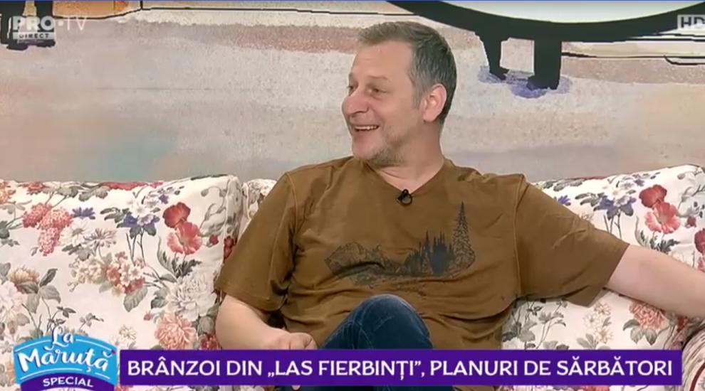 """Ionuț Ciocia, alias """"Brânzoi"""", povești din culisele serialului Las Fierbinți. """"Pe la filmări ne strigăm cum ne nimerim!"""""""
