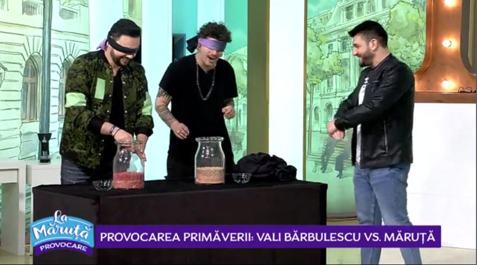 VIDEO Vali Bărbulescu a acceptat provocarea lui Cătălin Măruță