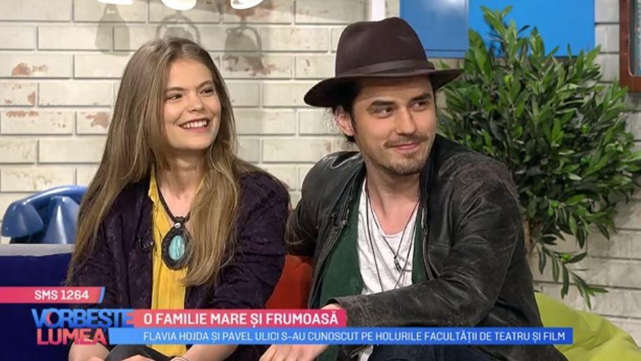Flavia Hojda și Pavel Ulici, dezvăluiri despre relația lor