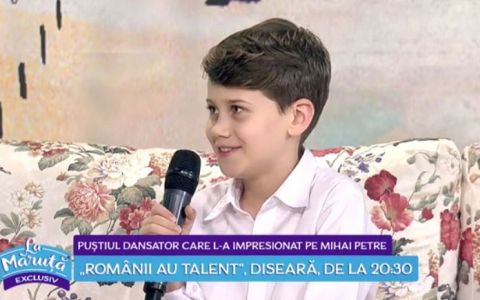 VIDEO Theodor Focșăneanu, puștiul care i-a uimit pe toți la  Românii au talent