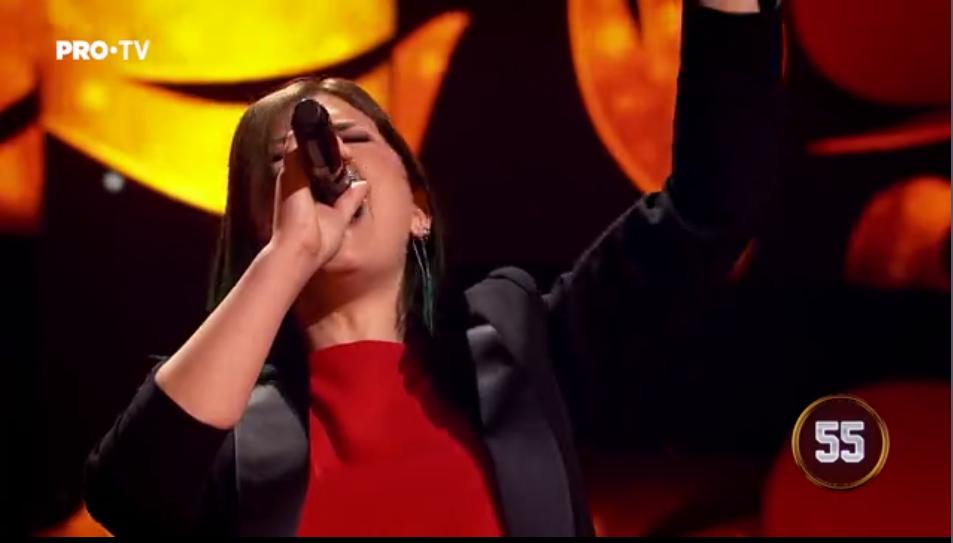 Cântă acum cu mine, ediția numărul 6: Andreea Rodica Birta