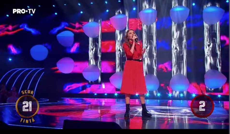 Cântă acum cu mine, ediția numărul 6: Andreea Petrov