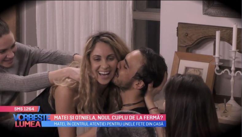 VIDEO Matei și Otniela, noul cuplu din Ferma