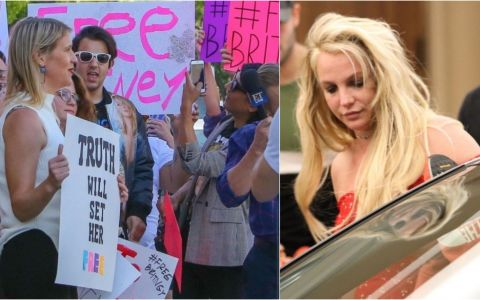 Protest la Los Angeles. Fanii lui Britney Spears cer externarea artistei de la psihiatrie