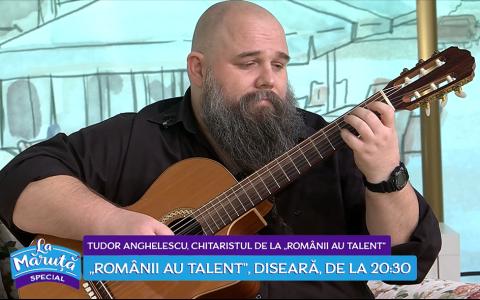 VIDEO Povestea chitaristului Tudor Anghelescu de la  Românii au talent